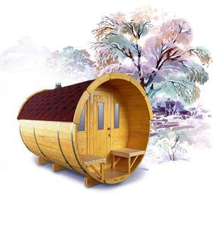 Sauna Fässer