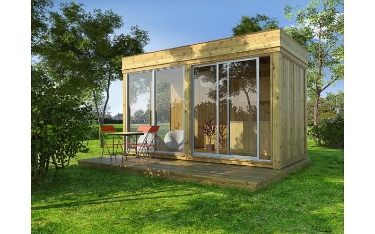 Garten Cube / Garten Lounge 4x2m