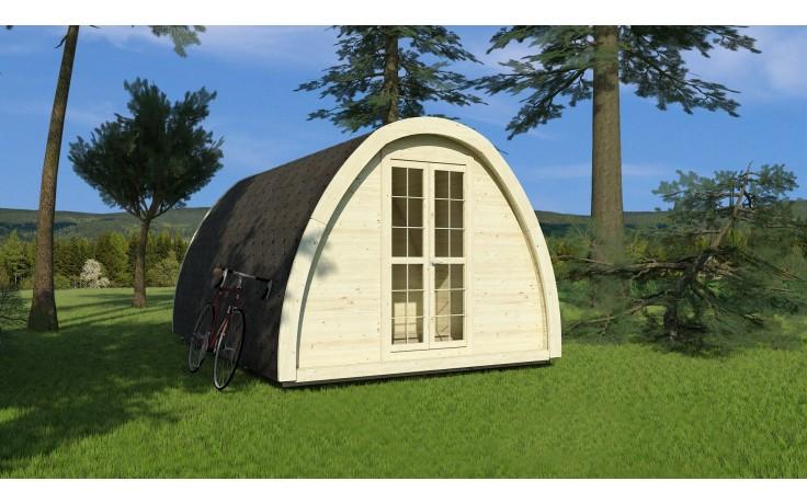 Gedämmter Camping POD 4,8 x 2,4 m
