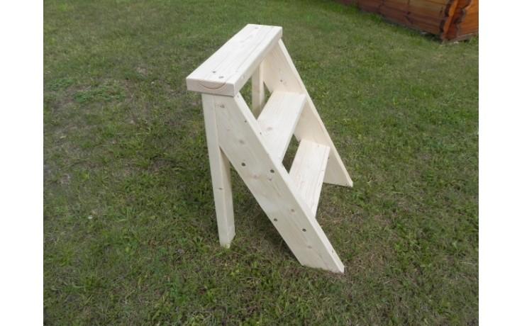"Treppe ""3 Stufen"" aus Fichtenholz"