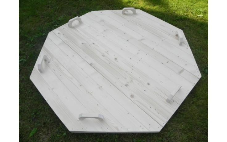 Fichtenholz-Abdeckung  Ø 1,5m