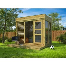 isolierter Garten Cube / Garten Lounge 3x2m