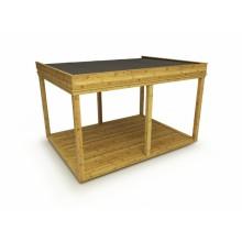 Garten Cube / Garten Lounge 4x3m