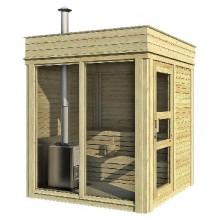 Sauna Cube 2 x 2 m