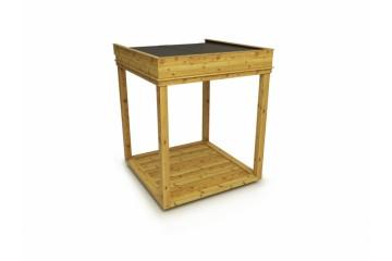 isolierter Garten Cube / Garten Lounge 2x2m