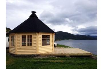 14.9 m² Pavillon