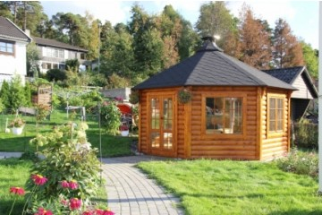 16.5 m² Pavillon