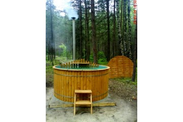 Ø1,9m Badetonne (HOT TUB) aus Polypropylen
