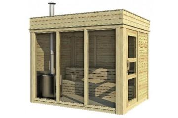 Sauna Cube 2 x 3 m