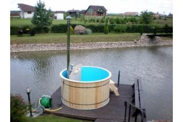 Ø 2.2 m Badetonne (HOT TUBE) aus Polypropylen